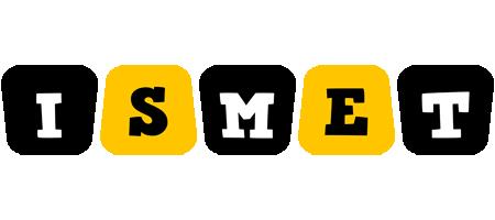 Ismet boots logo