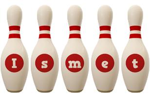 Ismet bowling-pin logo