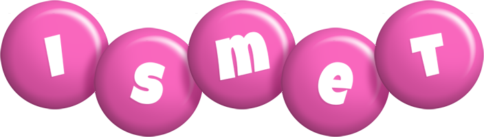 Ismet candy-pink logo