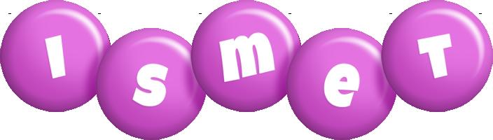 Ismet candy-purple logo