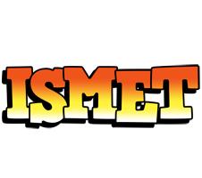 Ismet sunset logo