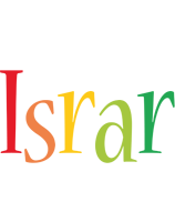 Israr birthday logo