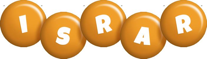 Israr candy-orange logo