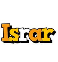 Israr cartoon logo