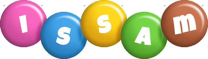 Issam candy logo