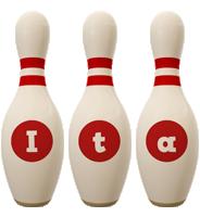 Ita bowling-pin logo