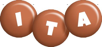 Ita candy-brown logo
