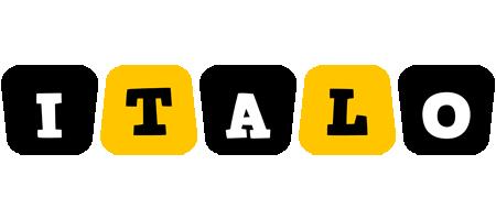 Italo boots logo