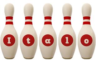 Italo bowling-pin logo