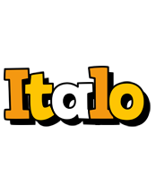 Italo cartoon logo