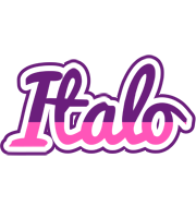 Italo cheerful logo