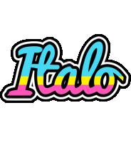 Italo circus logo