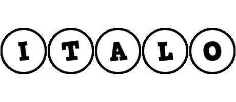Italo handy logo
