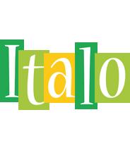 Italo lemonade logo