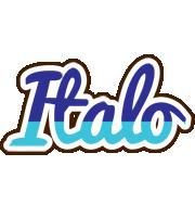 Italo raining logo
