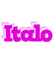 Italo rumba logo