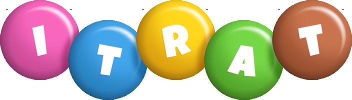 Itrat candy logo