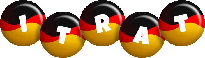 Itrat german logo