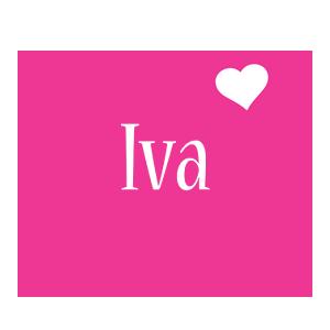 Iva love-heart logo