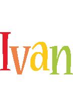 Ivan birthday logo