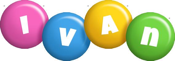 Ivan candy logo