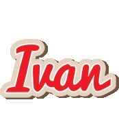 Ivan chocolate logo