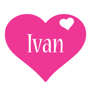 Ivan love-heart logo