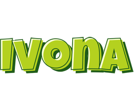 Ivona summer logo