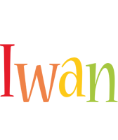 Iwan birthday logo