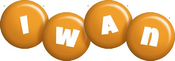 Iwan candy-orange logo