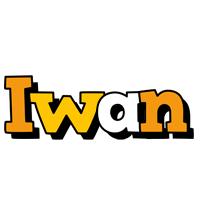 Iwan cartoon logo