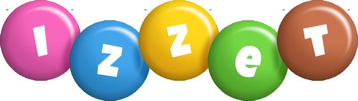 Izzet candy logo
