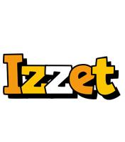 Izzet cartoon logo