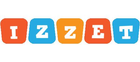 Izzet comics logo