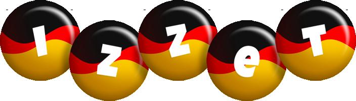 Izzet german logo