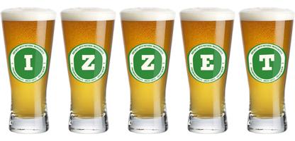 Izzet lager logo