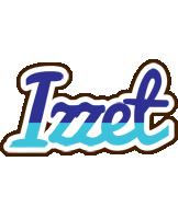 Izzet raining logo