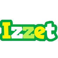 Izzet soccer logo