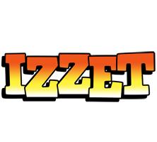 Izzet sunset logo
