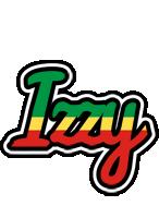 Izzy african logo
