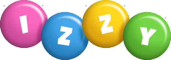 Izzy candy logo