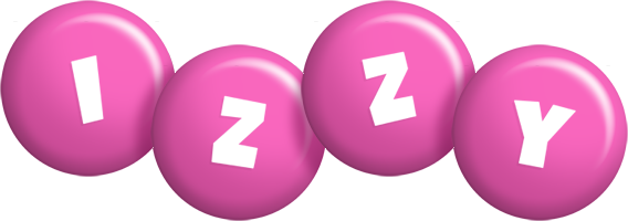 Izzy candy-pink logo