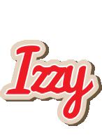 Izzy chocolate logo