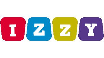 Izzy daycare logo