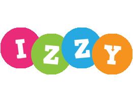 Izzy friends logo