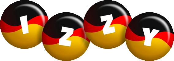 Izzy german logo
