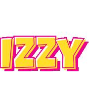 Izzy kaboom logo