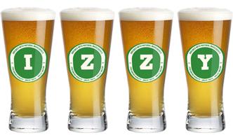 Izzy lager logo