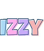 Izzy pastel logo