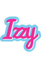 Izzy popstar logo
